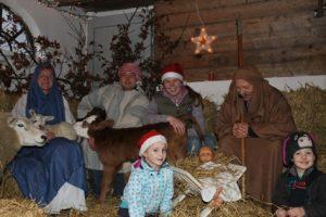 Kerststal door Pamela